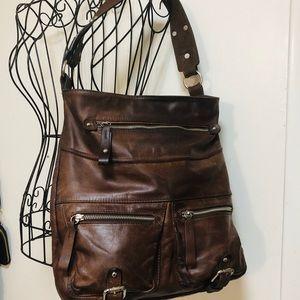 Tano Bag.  Beautiful Leather well made hobo Bag
